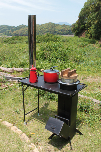 Table Type Cooking Stove 'Smart Rocket'