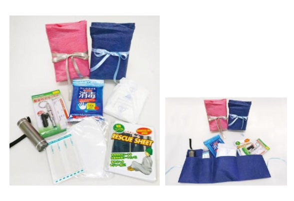 "Portable Emergency Kit ""Kurumeru 7-piece Set"""