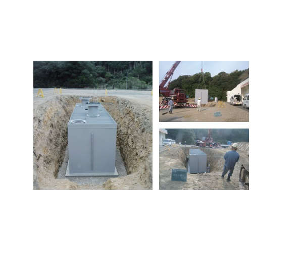 Secondary Product Earthquake-resistant Fire Protection Water Tank画像